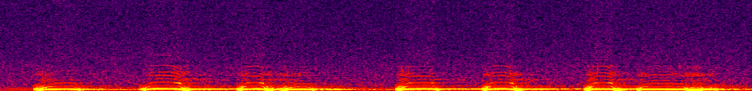 """A screenshot of a barred owl spectrogram. The yellow syllables comprise the vocalization (this is the """"who-cooks-for-who"""" call)."""